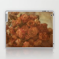 Old Orange Roses Laptop & iPad Skin