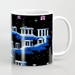 Greek Sanctuary in Pegasus Constellation Coffee Mug