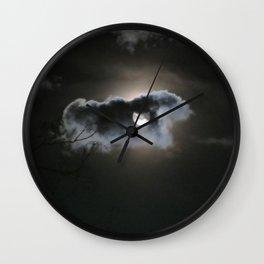 """""""Full Moon"""" Wall Clock"""