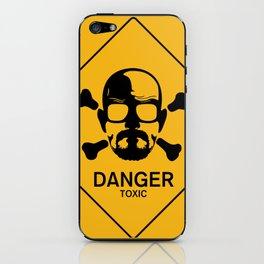 Warning: Danger iPhone Skin
