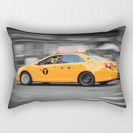 Yellow Taxi Rectangular Pillow