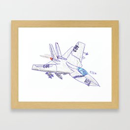 F-14 Framed Art Print