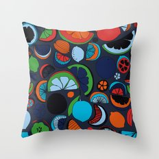 Agrumes Throw Pillow