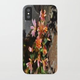Orange Flowers iPhone Case