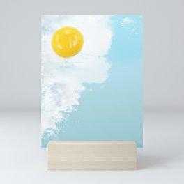 Fried by the beach Mini Art Print