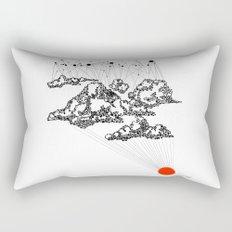 the Clouds Rectangular Pillow