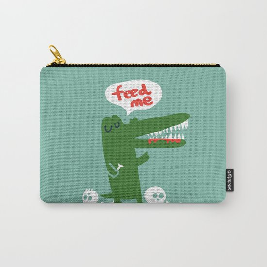 Hungry Hungry Alligator Carry-All Pouch