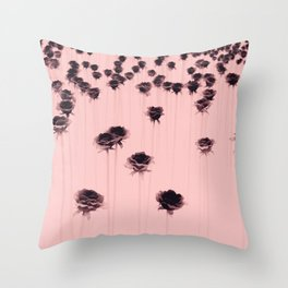 Poisoned garden Throw Pillow