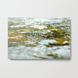 The Yuba River Metal Print