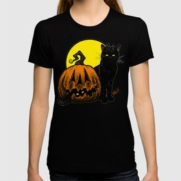 Still Life with Feline and Gourd T-shirt