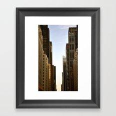 6th Ave. Framed Art Print