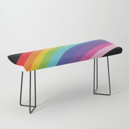 Circular Rainbow Bench