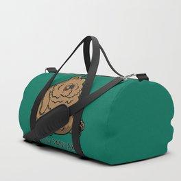 Pancake-Eating Bear Duffle Bag