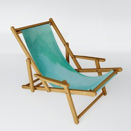 Shades of Green Watercolor Sling Chair