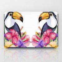toucan iPad Cases featuring Toucan by Julia Badeeva