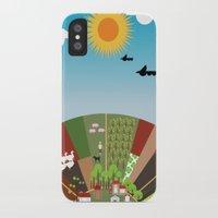 farm iPhone & iPod Cases featuring Farm by Design4u Studio