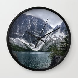 Colchuck Lake Wall Clock