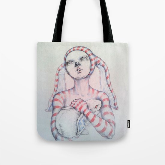 The Bunny rabbit Tote Bag