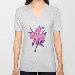 Flower study Unisex V-Neck