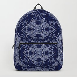 Victorian Era royal blue Backpack