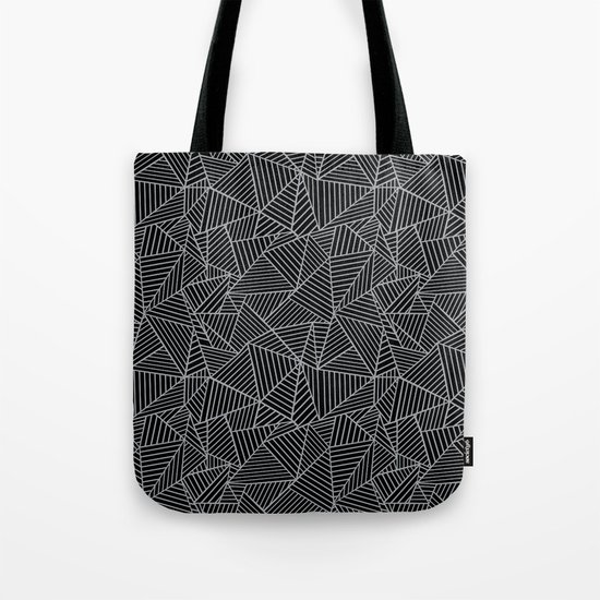 Ab 2 R Black and Grey Tote Bag