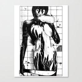asc 453 - La purification avant la lutte (The war paint) Canvas Print