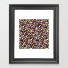 Sea pattern 02 Framed Art Print
