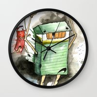 run Wall Clocks featuring RUN! by Travis Sykes