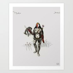 Heart of the Warrior Art Print