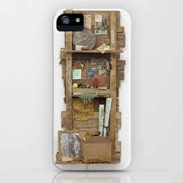Fragmented Cabin Study in 1:10 Scale iPhone Case
