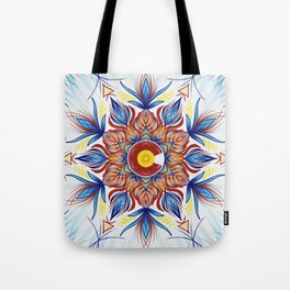 Colorado Mandala  Tote Bag
