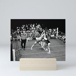 Kevin VonEric vs Frank Star Mini Art Print