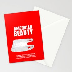 American Beauty Movie Poster Stationery Cards