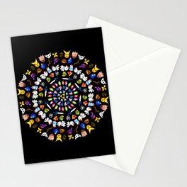 Ocarina of Time Mandala Stationery Cards