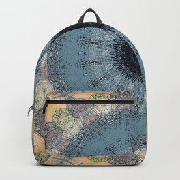 Delicate Detailed Pastel Mandala Backpack