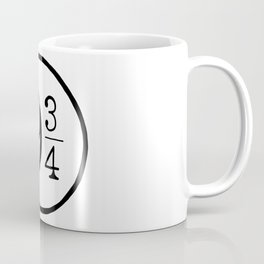 Platform 9 3/4 Nine And Three Quarters Coffee Mug