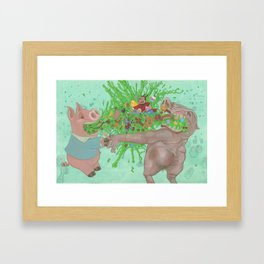 Its whats on the inside Framed Art Print