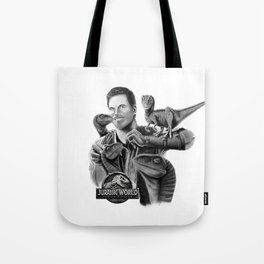 Owen and Raptors Tote Bag