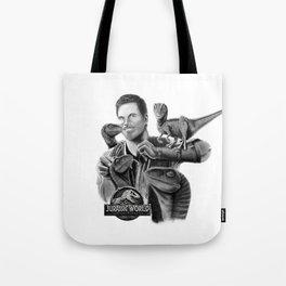 Owen and Raptors Tote Bag
