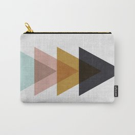 Minimalist Triangles Carry-All Pouch