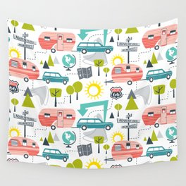 Road Trip Wall Tapestry