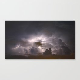 Night Explosions - V04 Canvas Print