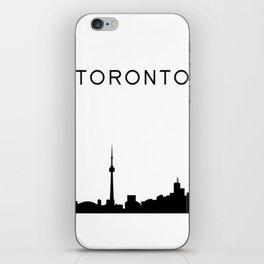 Toronto Skyline Graphic iPhone Skin
