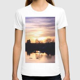 Floodplain at Sunset 4 T-shirt