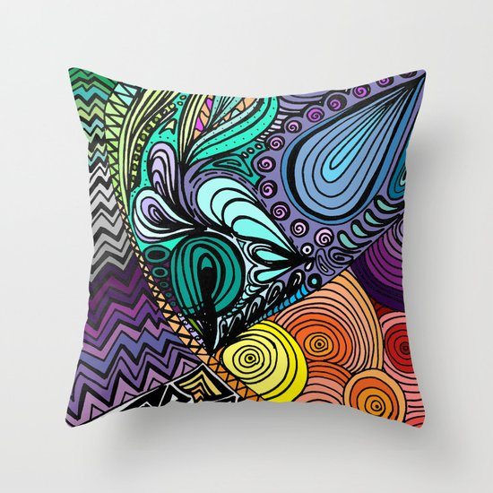Extrovert Throw Pillow