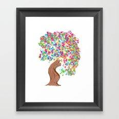 Gumbul Tree Framed Art Print