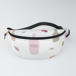 Colorful Champagne Bottle Fanny Pack