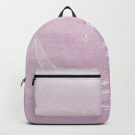 New Moon Rising in Lavender Skies! Backpack