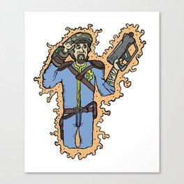 Wastelander Canvas Print