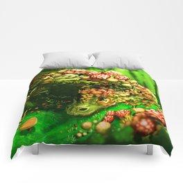 Mushroom dragon Comforters